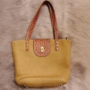 Eric Javits Woven Handbag